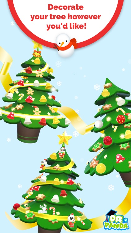 Dr. Panda AR Christmas Tree screenshot-3