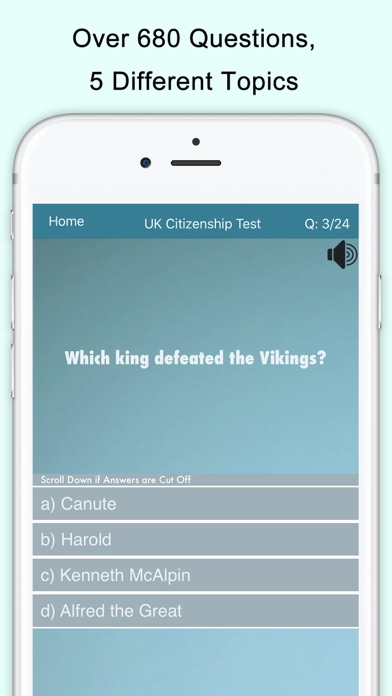 UK Citizenship Test screenshot four