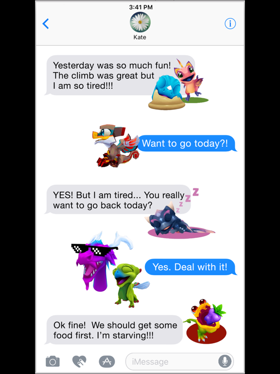 DragonVale World Stickers screenshot 10