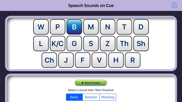 Speech Sounds on Cue (US Eng) screenshot-0