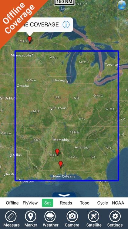 US Rivers HD GPS Map Navigator screenshot-4