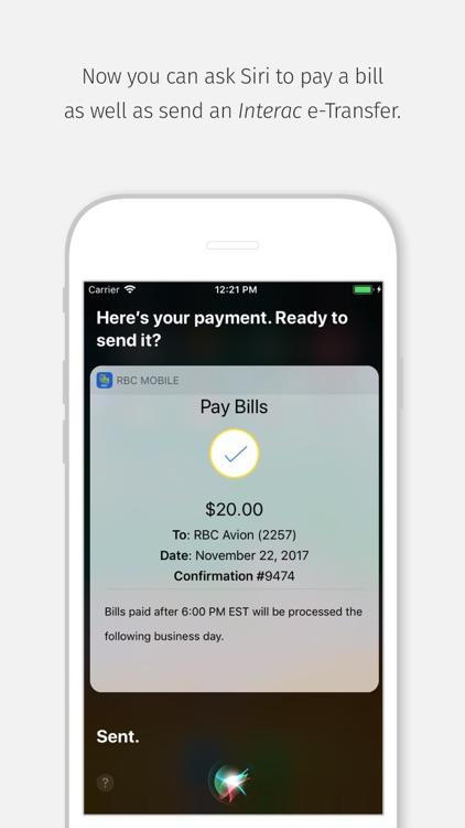 RBC Mobile screenshot-4