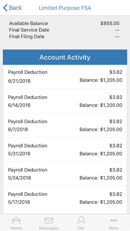 Paylocity Benefit Account