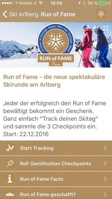 Screenshot for Ski Arlberg - offiziell in Germany App Store