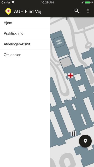 Screenshot for AUH Find Vej in Denmark App Store