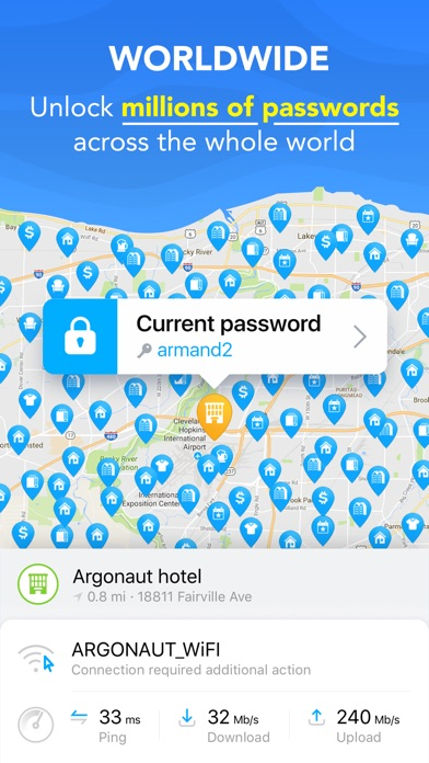 WiFi Map Pro - Free Internet Screenshots