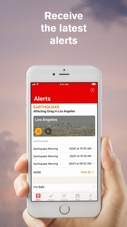 Earthquake: American Red Cross screenshot-0