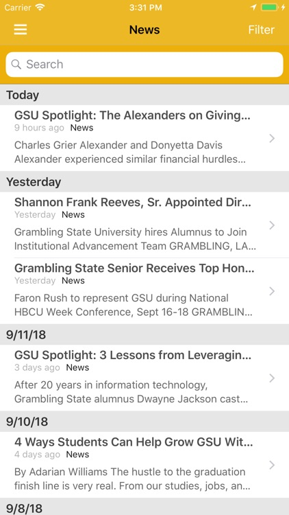Grambling State Mobile by Ellucian™