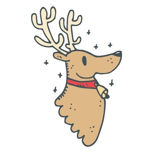Christmas Doodles Sticker Pack