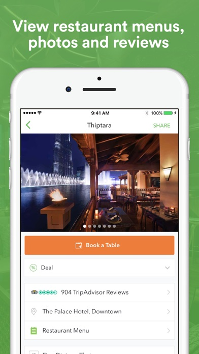 Screenshot for Eat App - Restaurant Booking in United Arab Emirates App Store