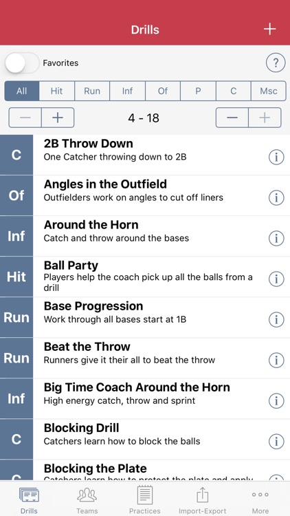 Practice Planner - Baseball screenshot-1