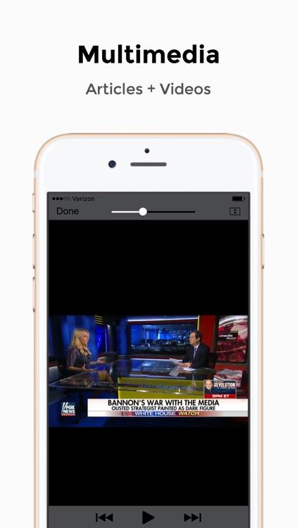 Drudge Report, FOX & Breitbart - Political News screenshot-3