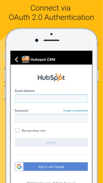 Business card reader 4 hubspot app download apps store app stow business card reader 4 hubspot app screenshots reheart Choice Image