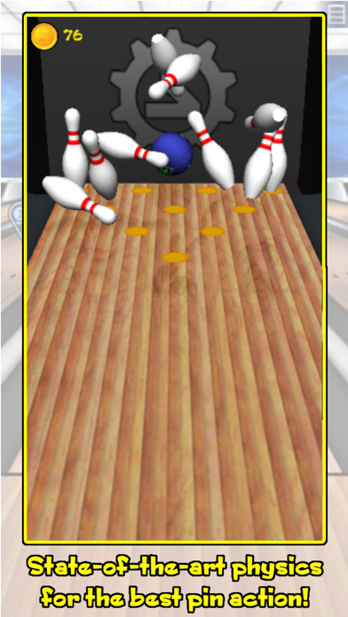 Screenshot from Action Bowling Classic