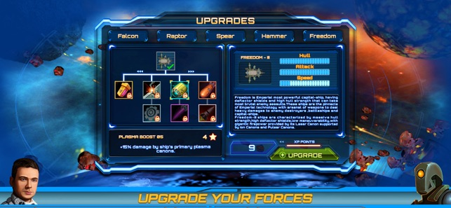 Armada Commander: Space Battle Screenshot