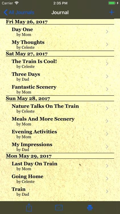 Trip Boss Travel Journal screenshot-3