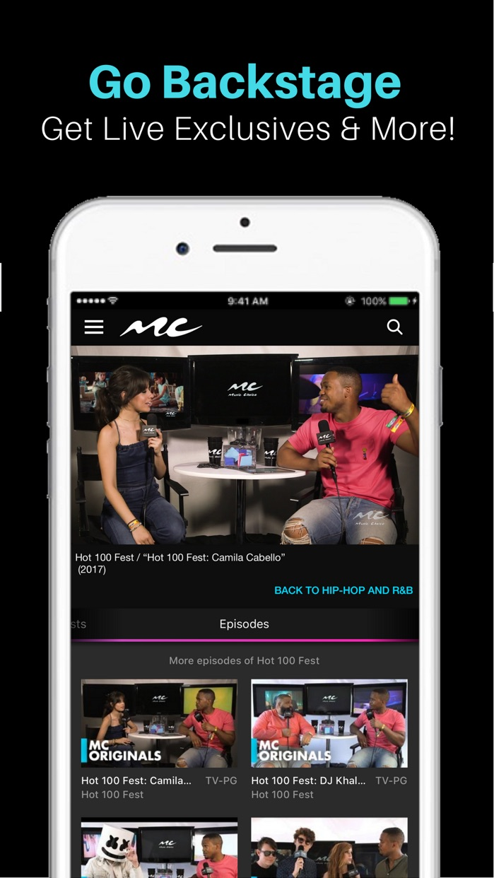 Music Choice - Listen & Watch Screenshot