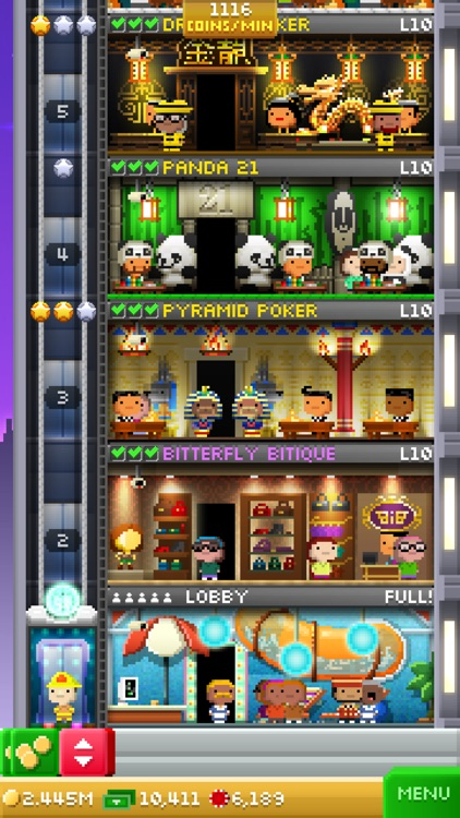 Tiny Tower Vegas screenshot-0