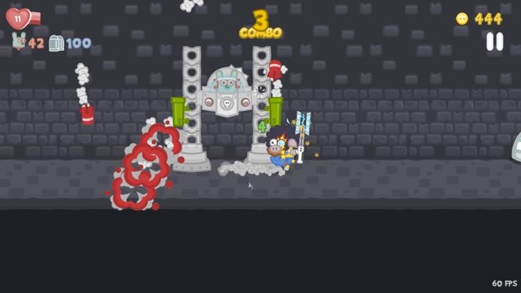 Bacon May Die: run,gun,fight! screenshot-4