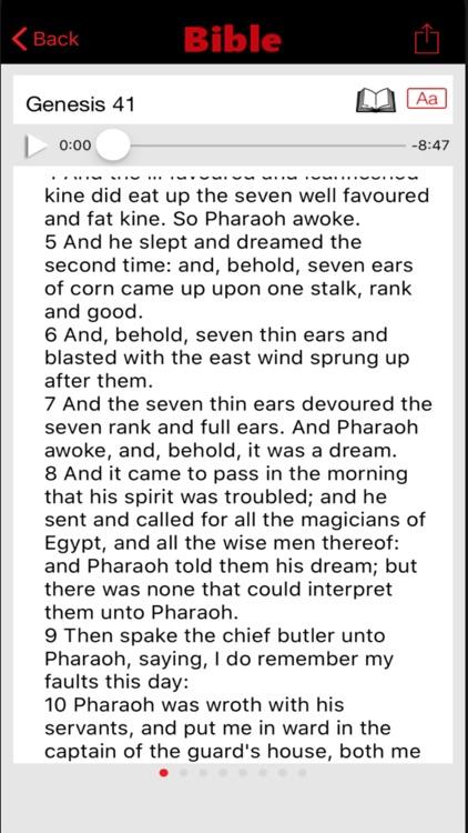 The Holy Bible - KJV screenshot-3