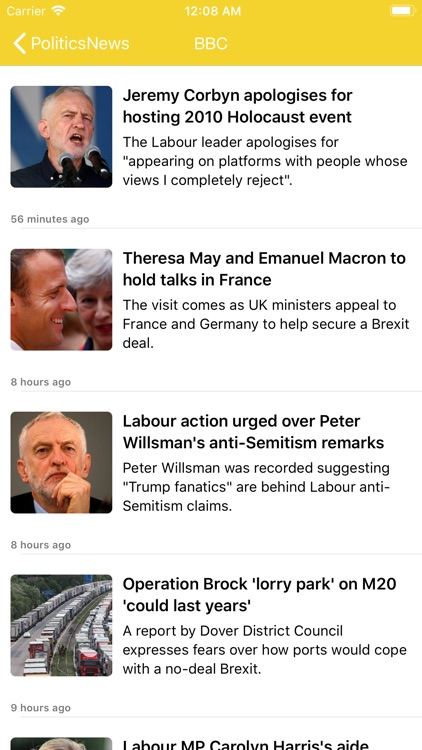 Politics News Pro - RSS Reader