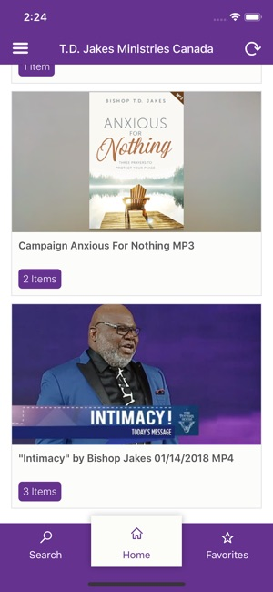 TD Jakes On Demand on the App Store