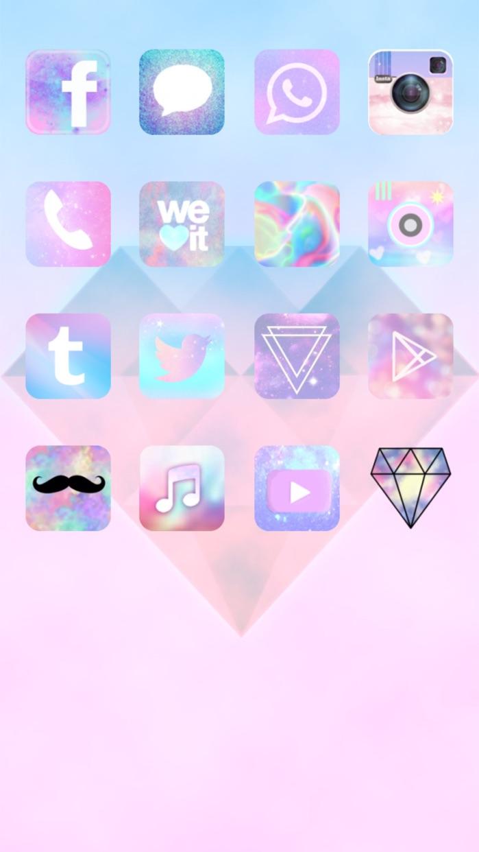 CocoPPa - cute icon&wallpaper Screenshot
