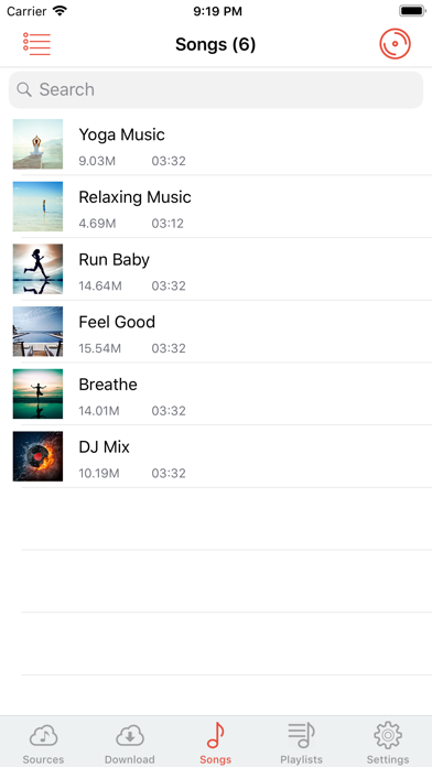 Cloud Music Player - Listener for Windows