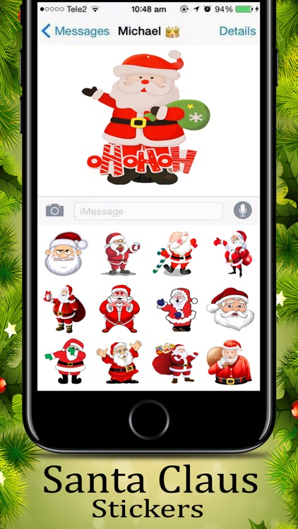 Santa Claus  Awesome Sticker screenshot-2