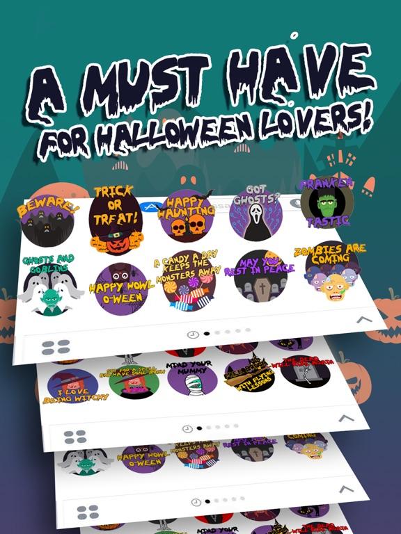 Scary HalloweenMoji Stickers screenshot 5
