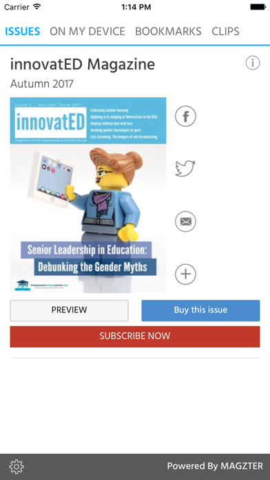 innovatED Magazine screenshot 1