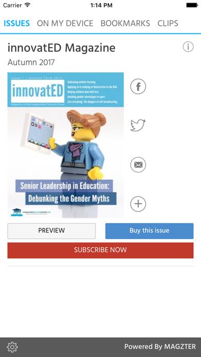 innovatED Magazine screenshot 1