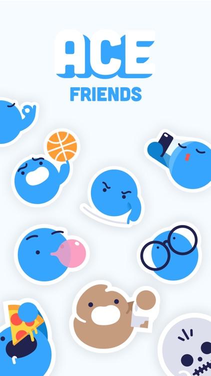 ACE Friends Sticker Pack