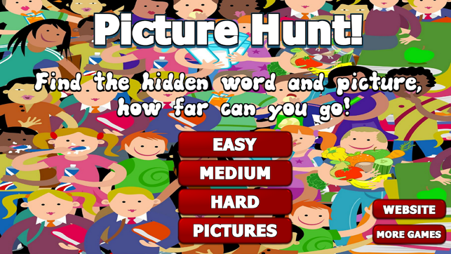 Hidden Words And Picture Game On The App Store