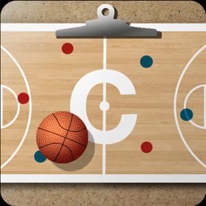 Basketball coach's clipboard app