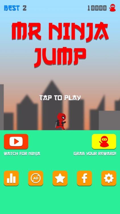Mr Ninja Jump Z screenshot-4