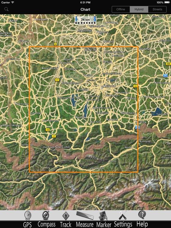 Starnberg lake GPS Charts Pro screenshot-4