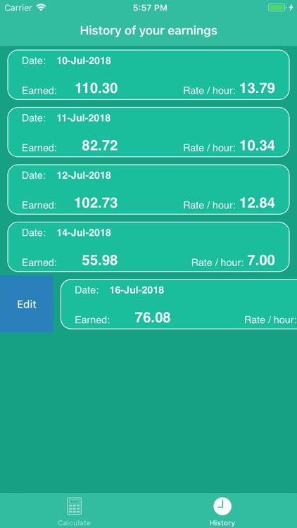 PiecePay: Piecework Calculator screenshot-7