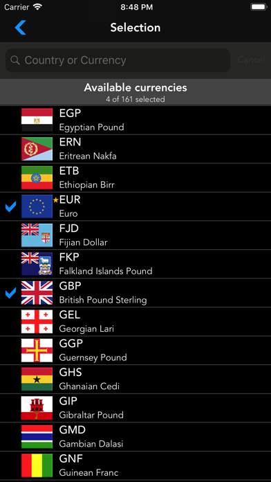 Currencia screenshot four