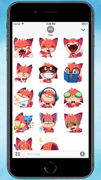 Foxy Fox Stickers
