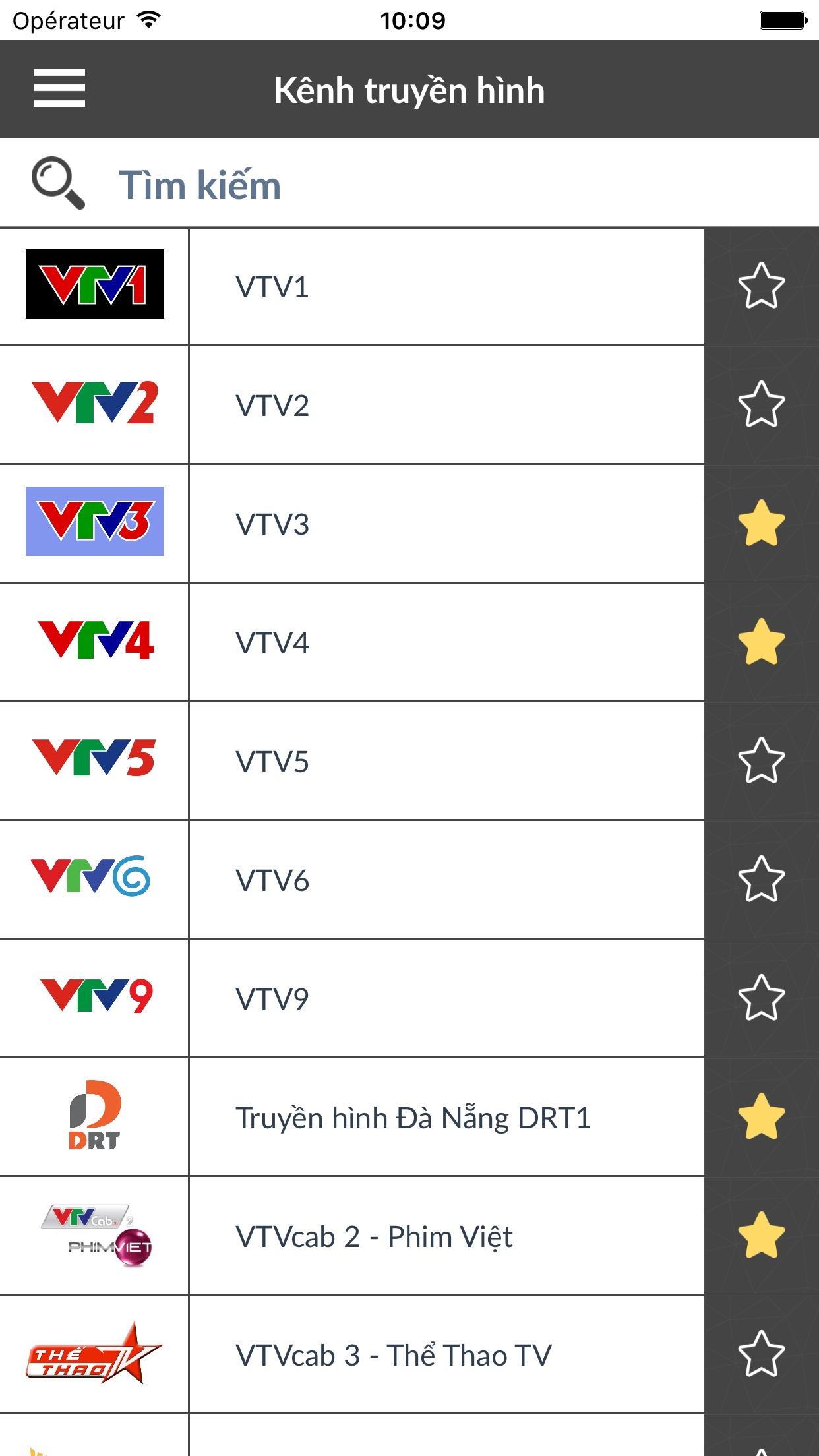 TV lịch phát sóng Việt Nam VN Screenshot