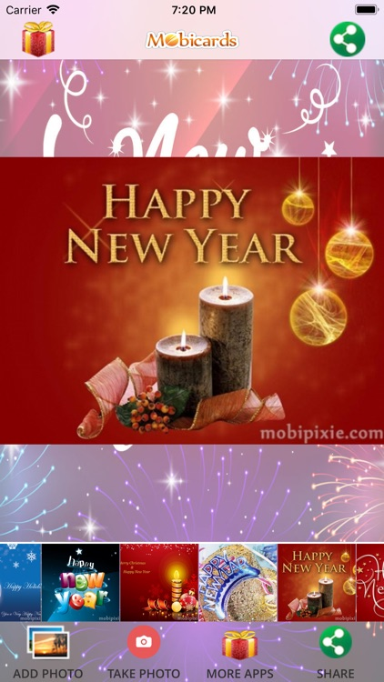 New Year eCard & Photo e-Cards