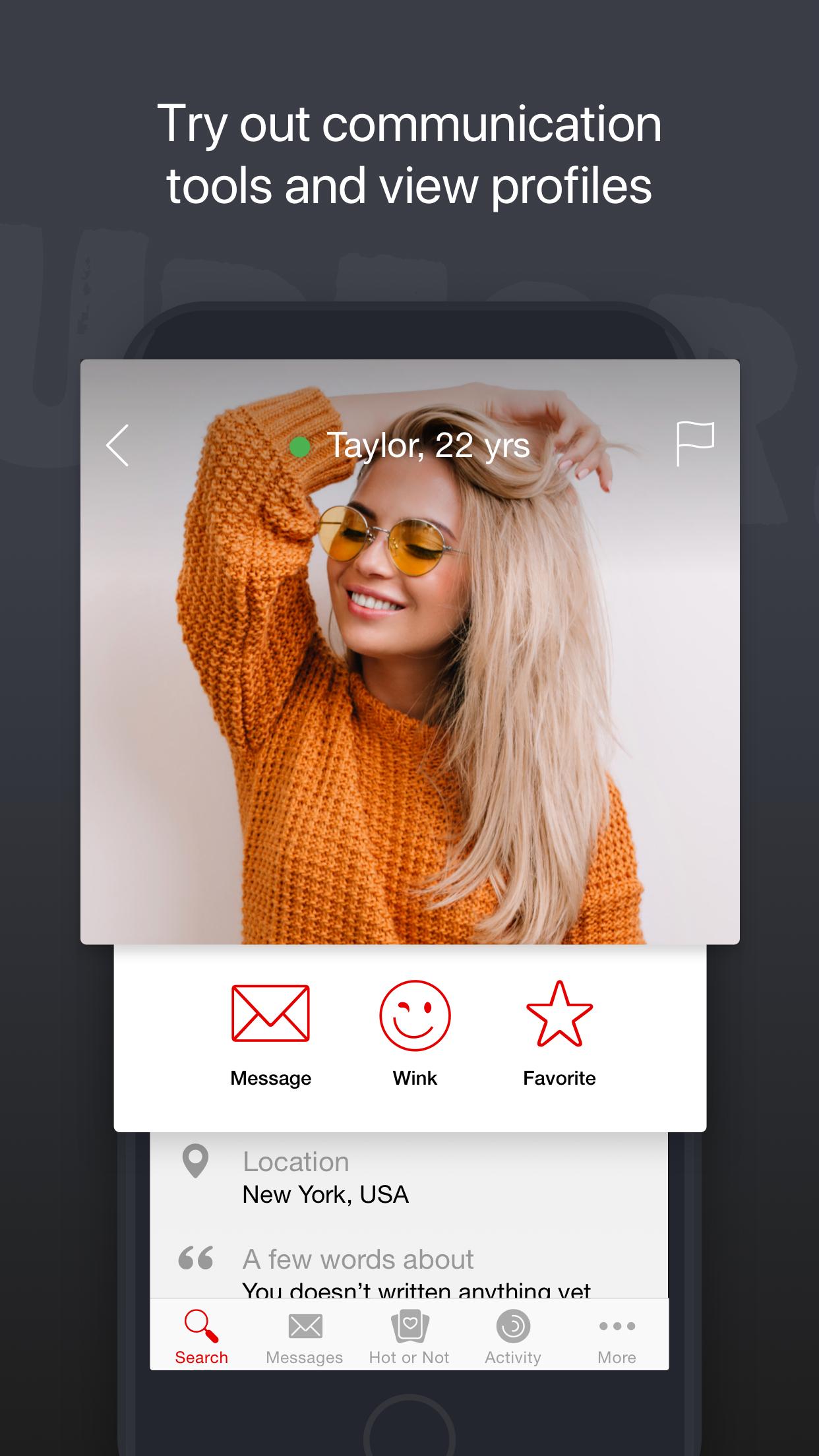 UpForIt: dating for singles Screenshot