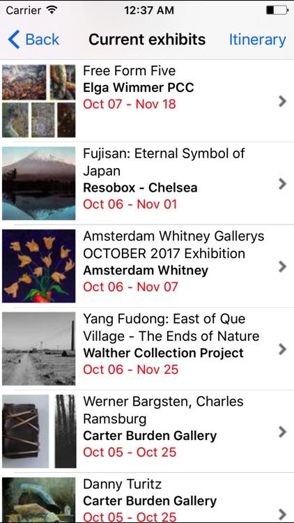 Chelsea Gallery Map