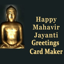 Mahavir Jayanti Greeting Maker For Wishes Messages