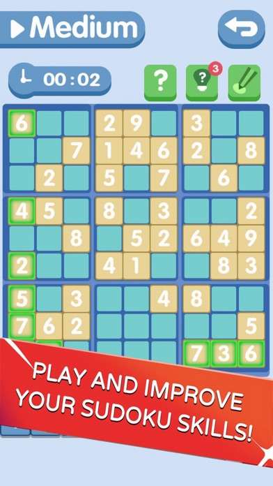 Sudoku!Level Brain screenshot 3