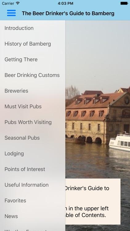 Bamberg Beer Guide
