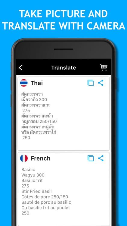 Camera Translator: Translate+ screenshot-4