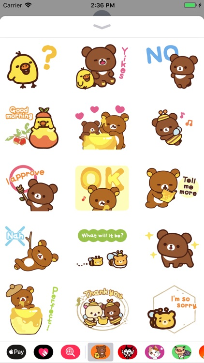 Evie Cute Stickers for Texting