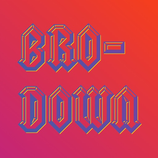 Bro-Down Sticker Pack